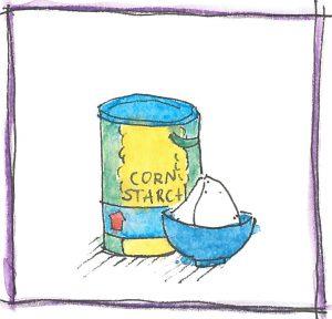 Tin of Corn Starch